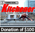 Kitchener Comic Con - $100 Donation