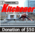 Kitchener Comic Con - $50 Supporter