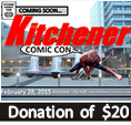 Kitchener Comic Con - $20 Supporter