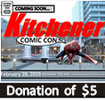 Kitchener Comic Con - $5 Supporter