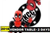 Kitchener Comic Con 2017 - Vendor Table
